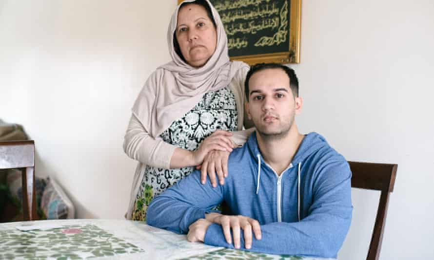 Shamim Syed and her son, Yusef Syed