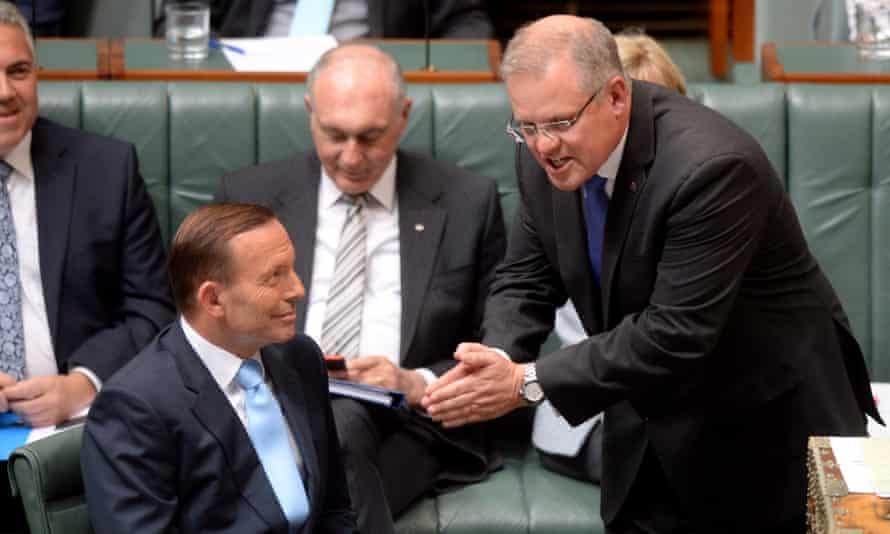scott morrison tony abbott