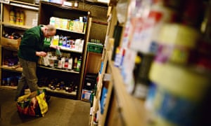 One Conservative minister claimed the increased use of food banks is due to greater publicity about