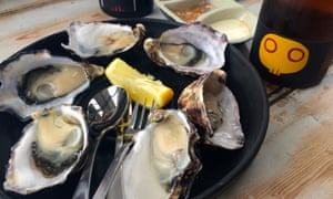 Oysters at Get Shucked.