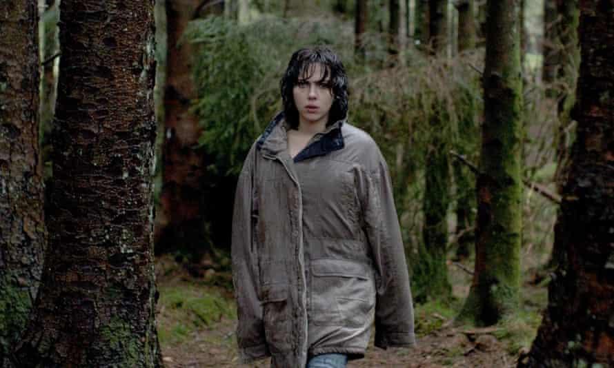 Out in the wilderness ... Scarlett Johansson in Under the Skin