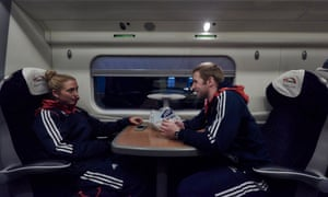 Laura's weekend started with a train journey from Manchester to London, alongside boyfriend Jason Kenny.