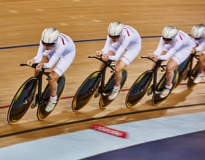 Leading Ciara Horne, Katie Archibald and Elinor Barker, Laura and the team would take another team pursuit win.
