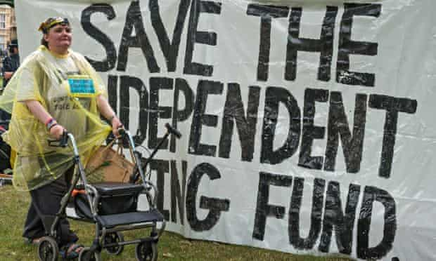 Westminster Abbey occupied to Save the Independent Living Fund