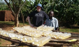 Solar water disinfection (SODIS).