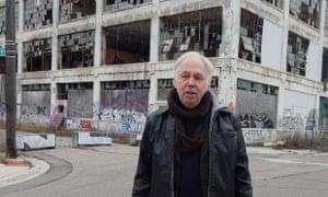 Dimitri Hegemann outside the Fisher Body Plant