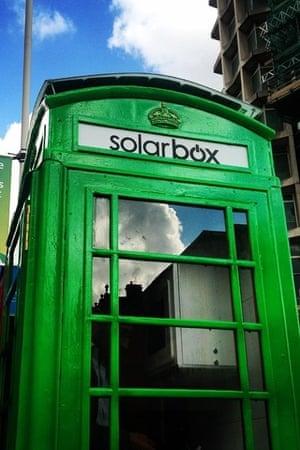 The solarbox.