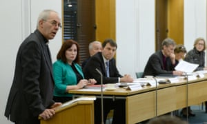Justin Welby, the archbishop of Canterbury, speaking at the launch of the Feeding Britain report