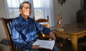 Vernon Masayesva , former chairman of the Hopi tribe and founder and director of the Black Mesa Trust