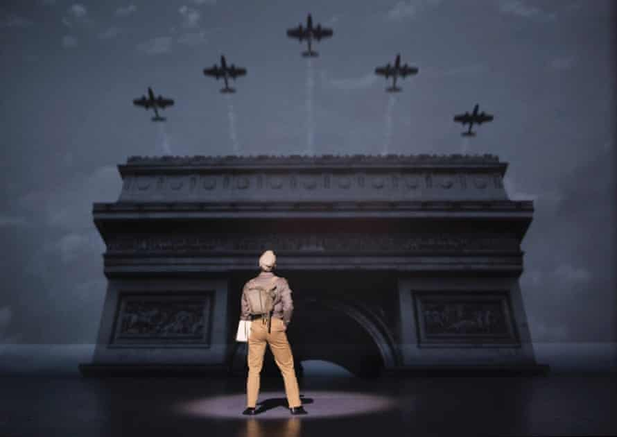 A scene from the new version of An American in Paris