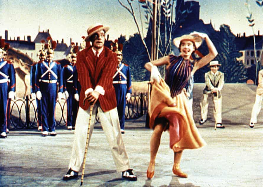 Gene Kelly and Leslie Caron in the original film version