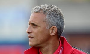 Carlisle United manager Keith Curle.