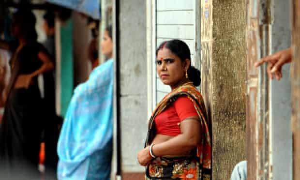 Mumbai sex worker in red light district of Kamathipura