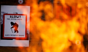 Firefighters strike over pensions in Manchester