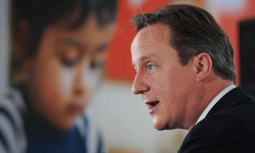 David Cameron delivers a speech about making the internet safer for children at the NSPCC in 2013