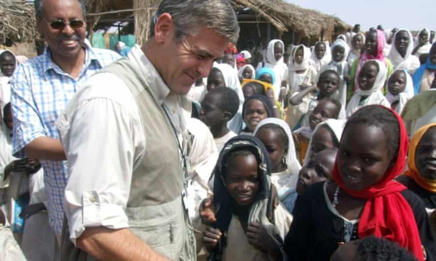 George Clooney Darfur
