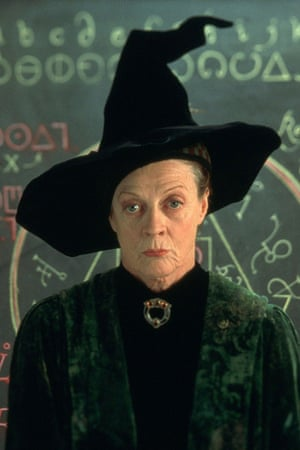 smith as professor mcgonagall in the harry potter films