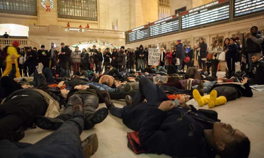 grand central die-in new york