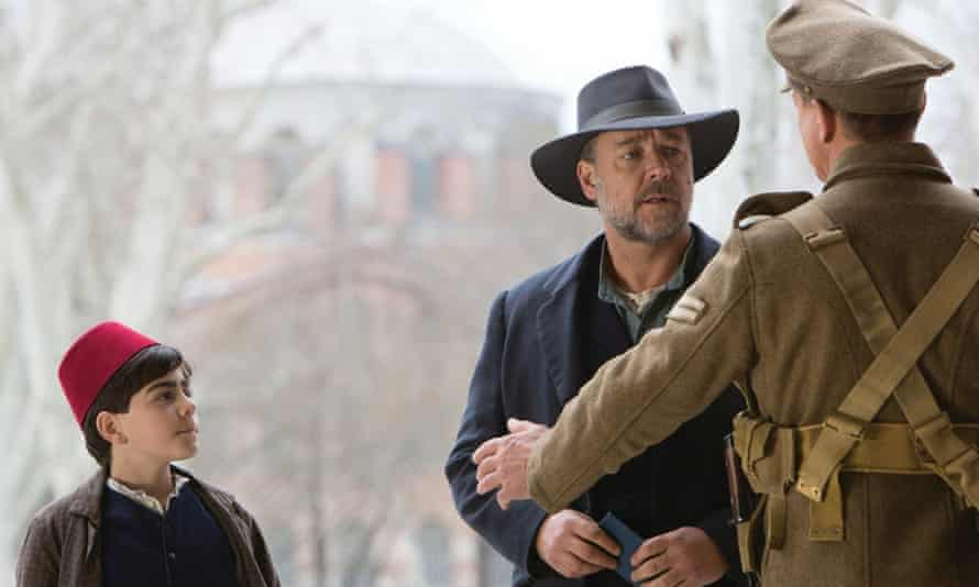 Russell Crowe directs and stars in The Water Diviner.