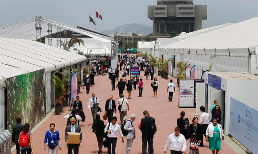 Major United Nations climate negotiations are taking place in Lima, Peru.