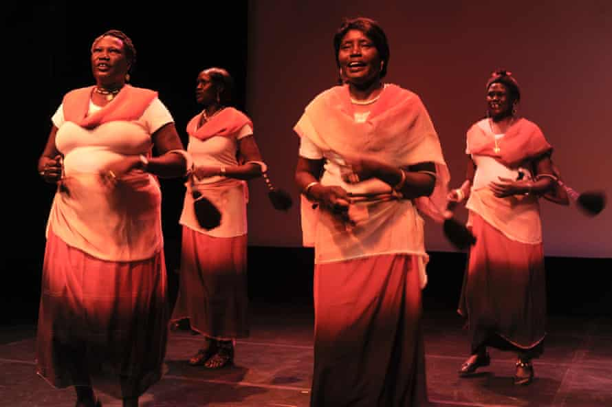 South Sudanese Women's performance group