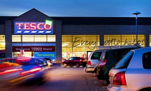 Tesco has recorded the biggest-ever loss in UK retail history