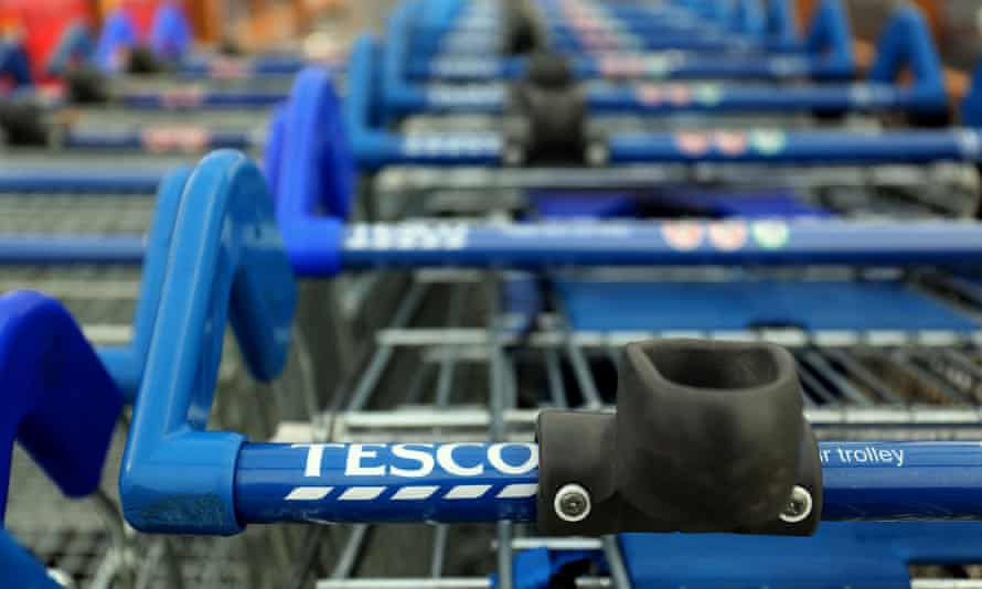 Tesco's profits and share price have nosedived.