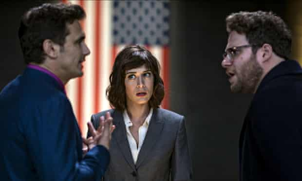 JAMES FRANCO, LIZZY CAPLAN & SETH ROGEN