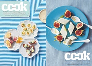 Our 10 best canapés (6 December 2014) and milk jelly and figs was the cover star of our 10 best recipes with milk (18 May 2013)