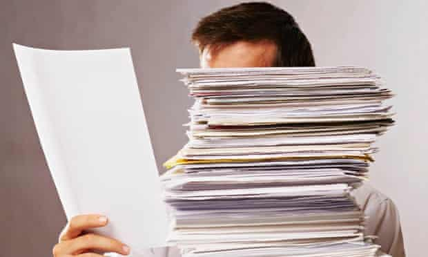 social work bureaucracy paperwork