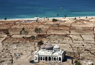 Boxing Day 2004 Tsunami Banda Aceh Then And Now World News The Guardian