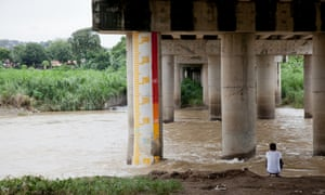 River gauge in Banaba, Manila, the Philippines