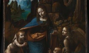 Virgin of the Rocks, National Gallery, London.