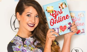 """YouTube star Zoe Sugg, aka Zoella, at the launch party for her book Girl Online, which she has now admitted she had """"help"""" writing."""