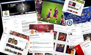 Football's social media arms race.