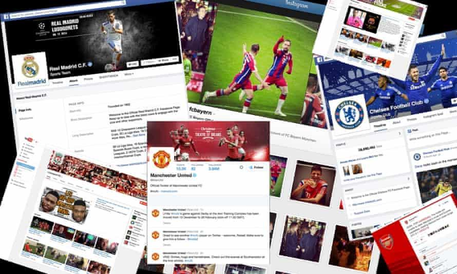 Football's social media arms race.