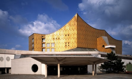 Berlin Philharmonie. Photograph: Dennis Gilbert/View Pictures