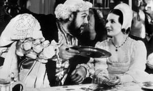 Charles Laughton in the culturally definitive 1933  portrayal of the greedy king.