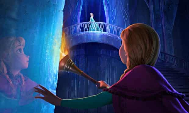 Elsa and Anna in Disney's Frozen, a hugely successful refashioning of 'The Snow Queen' fairy tale.
