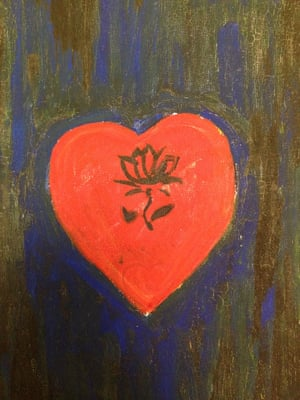 A valentine for Ted Berrigan by Alice Notley