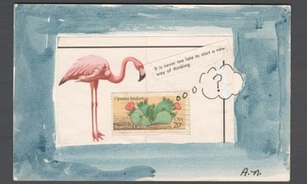 Postcard by Alice Notley