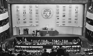 The declaration was adopted by the third General Assembly on 10 December 1948 in Paris.