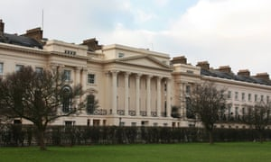 Cornwall Terrace, Regent's park: the Qataris are converting three of the Grade I listed homes into a mega-palace.