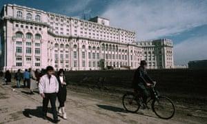 The palace built by Nicolae Ceaușescu