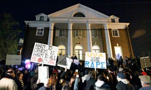 Protests at the University of Virginia