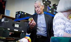 Frank Field on a visit to a food bank in South Shields as part of all-party parliamentary inquiry in