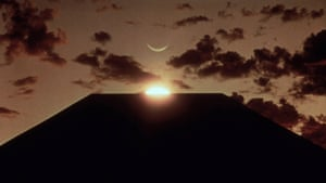 The prehistoric monolith from the Stanley Kubrick film 2001: A Space Odyssey (1968)