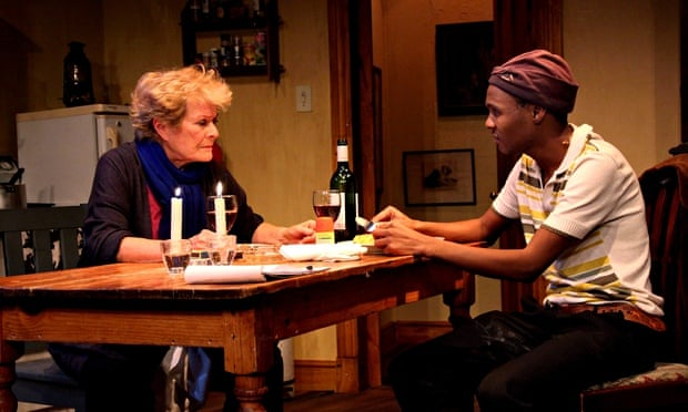 Janet Suzman and Khayalethu Anthony in Solomon and Marion – Anthony gave 'a magnificent performance'