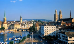 Zurich, Switzerland: perhaps surprisingly an important location in Luxembourg tax affairs.