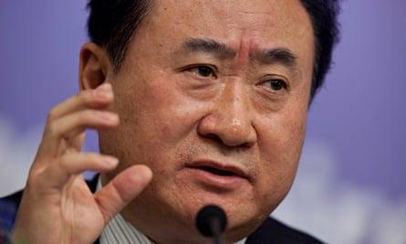 Wang Jianlin, chairman of Dalian Wanda Group